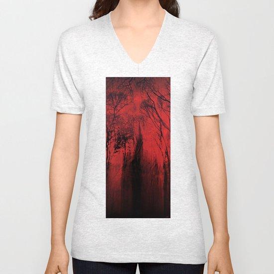 Blood red sky Unisex V-Neck