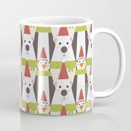 Penguins & Polar Bears (Patterns Please) Coffee Mug