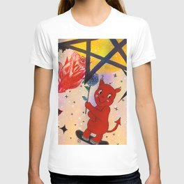 Skateboard Devil Baby T-shirt
