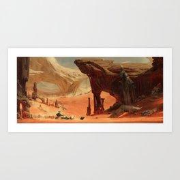 Deep Desert Art Print