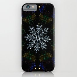 Continuous Christmas Lights iPhone Case