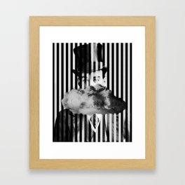 Racks Framed Art Print