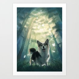 My real fantasy world Art Print