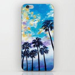 Oceanside Palm Trees iPhone Skin