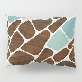 Cell in Blue Pillow Sham