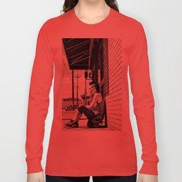 South Tacoma Skater  Long Sleeve T-shirt