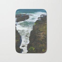 Picturesque Oregon Coast Bath Mat
