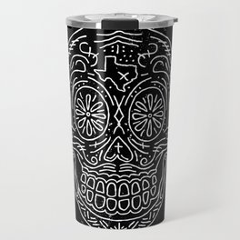 Texas Sugar Skull Travel Mug
