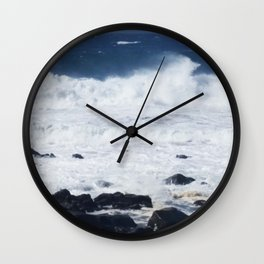 Indian Ocean After Spring Tide Wall Clock