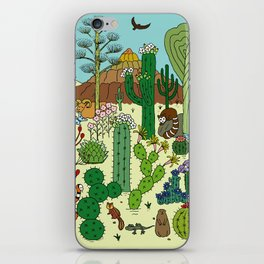 Arizona Desert Museum iPhone Skin