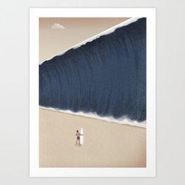 Face Your fear Art Print