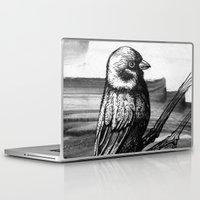 sparrow Laptop & iPad Skins featuring Sparrow by Chuchuligoff