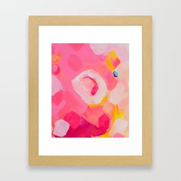 Pieces of love 4 Framed Art Print