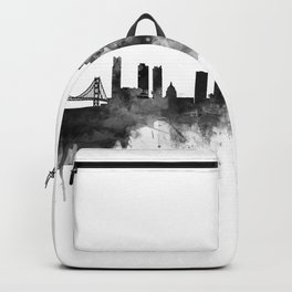 San Francisco Black and White Backpack
