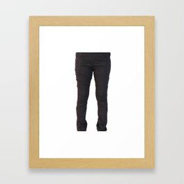 Online Women's Jeans Framed Art Print