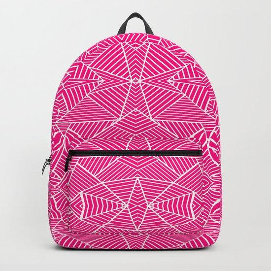 Ab Zoom Mirror Fushia Backpack