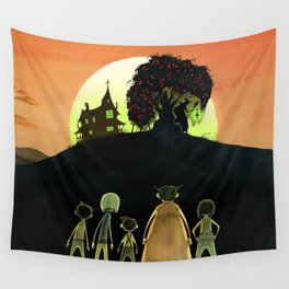 The Pomegranate Witch Wall Tapestry