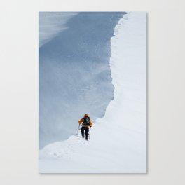 Climbing the Hogsback Canvas Print