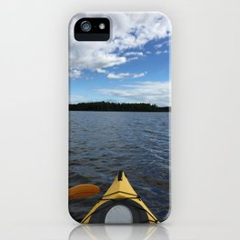 Into the Wild - Kayak Life iPhone Case