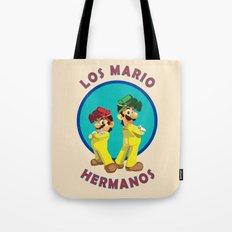 Los Mario Hermanos Tote Bag