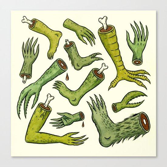 Disiecta Membra No. 2 Canvas Print