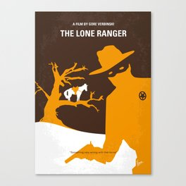No202 My The Lone Ranger mmp Canvas Print