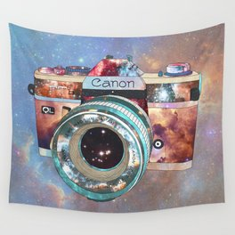 SPACE CAN0N Wall Tapestry