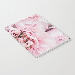 Pink Blush Peonies Notebook