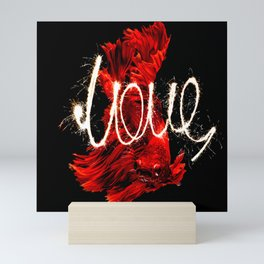LOVE RED Mini Art Print