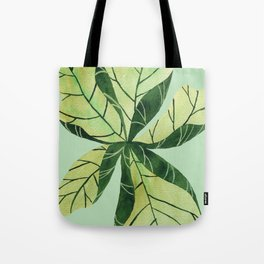 Leaf flower Tote Bag