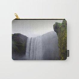 skogafoss waterfall, iceland. Carry-All Pouch