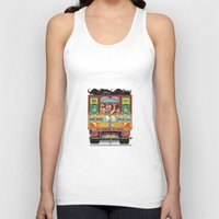 truck Tank Tops featuring TRUCK ART by urvi