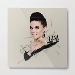 Lana Parrilla Metal Print