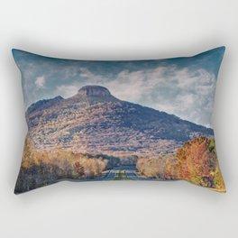 Pilot Mountain Rectangular Pillow