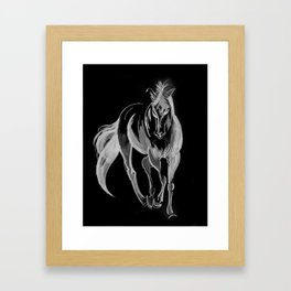 Being A Strong Horse Framed Art Print