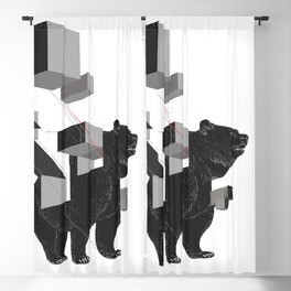 bear_deconstructed Blackout Curtain