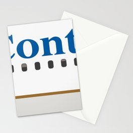 Plane Tees - Continental Airlines Stationery Cards