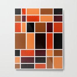 Mondrian No. 87 Metal Print