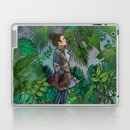 A Winter Walk in a Tropical Greenhouse Laptop & iPad Skin