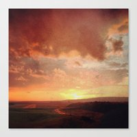 courage Canvas Prints featuring Courage by Elina Cate