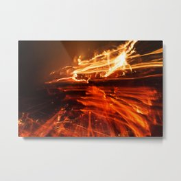 Playing with Fire 25 Metal Print