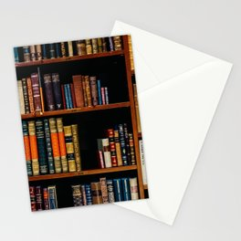 The Bookshelf (Color) Stationery Cards