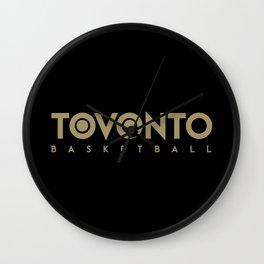 Toronto Basketball Wall Clock