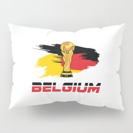 World cup Belgium Pillow Sham