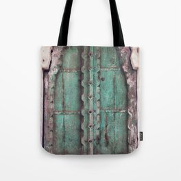 Doors Of Rajasthan Tote Bag