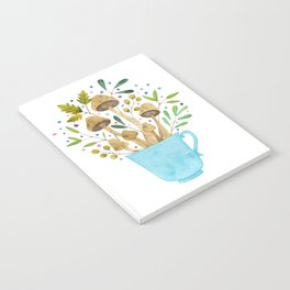 Relaxing Shrooms Notebook