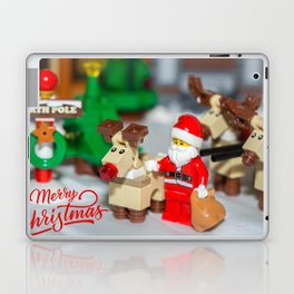 Santa and Rudolf Laptop & iPad Skin