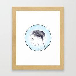 Lé Framed Art Print
