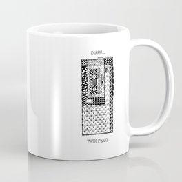 Twin Peaks - Cooper's Recorder. Coffee Mug