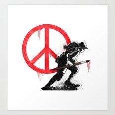 Art is a weapon! Art Print